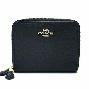 NWT COACH Small Double Zip Around Wallet Card Case
